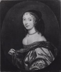 Portret van Anna Cats (1609-1649)
