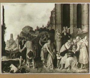 Jakob ontvangt de bebloede mantel van Jozef (Genesis 37:33-34)