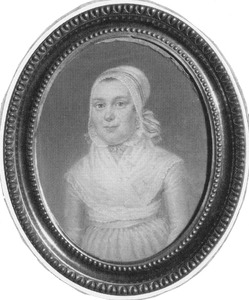 Vermoedelijk portret van Anna Dijkxman-de Kater (1753-1816)