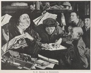 Twee advocaten in hun kantoor