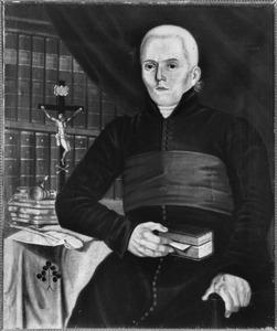 Portret van pastoor Hermanus Josephus Gallenkamp (1787-1843)