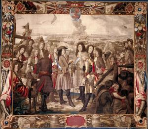 Christiaan V neemt de vesting Landskrona in, 4 Augustus 1676