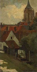 De kerktoren van Gorinchem