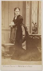 Portret van Johanna Henrietta Francina barones van Zuylen van Nijevelt (1844-1914)