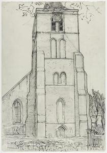 Church tower at Domburg