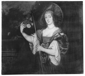 Portret van Dorothy Sidney, Lady Spencer, later Countess of Sunderland als herderin
