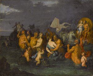 De triomf van Neptunus en Amfitrite