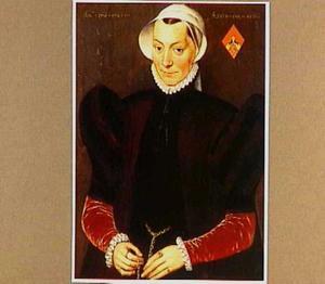 Portret van een 45-jarige vrouw uit Veere