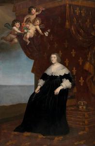 Portret van Maria de' Medici