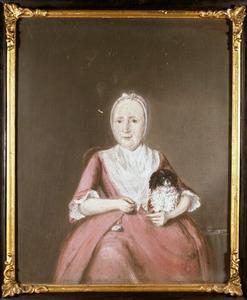 Portret van Alida Vosmaer (1712-1789)