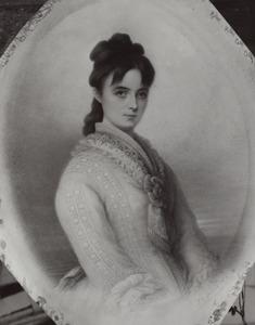Portret van Louise Antoinette Stratenus (1852-1908)