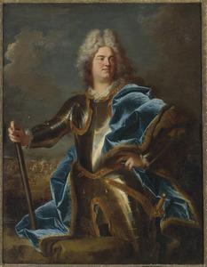Portret van een man, vermoedelijk, Claude Louis Hector, Duc de Villars