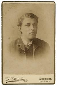 Portret, mogelijk van Maurits v.d. Ham (1862-1897)