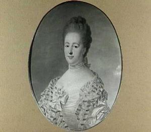Portret van Agneta Geertruida van Lockhorst (1735-1788)