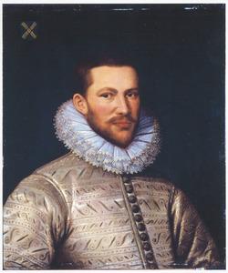 Portret van Andries van der Muelen (1549-1611)