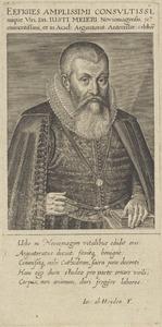 Portret van Justus Meyer (1566-1622)