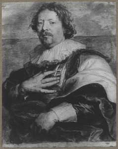 Portret van de schilder Gaspar de Crayer