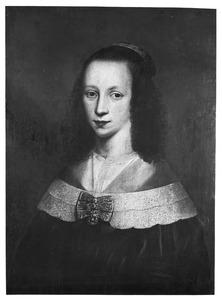 Portret van een vrouw, waarschijnlijk Neeltje Jacobsdr. de Groot, echtgenote van  Albert Seynsz. Coninck