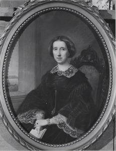 Portret van Gerardina Andrea Helena Brantsen (1828-1882)