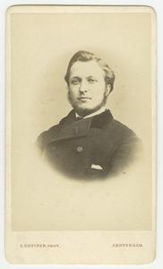 Portret van een man, waarschijnlijk Severijn Fijan (1849-1912)