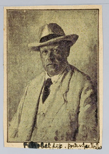 Portret van Jacques Urlus (1867-1935)
