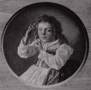 Kind dat aan de haren trekt (de vijf zintuigen: het Gevoel)