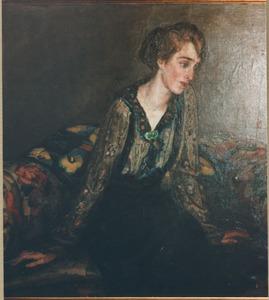 Portret van Helène Kaufmann (1899-....)