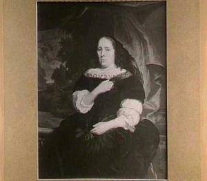 Portret van Margaretha de Veer (?-1683)