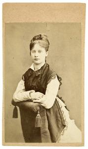 Portret van Paula Verhellouw (1860-1945)
