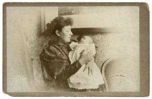 Portret van Dorothea Christina Jaspers (1861-1916) en Dora Marie Stolberg (1896-1984)