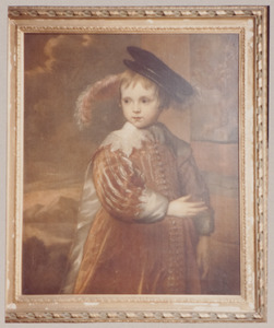 Portret van Willem II van Oranje-Nassau (1626-1650) als kind