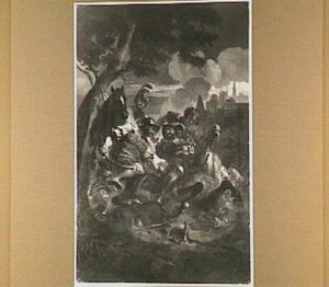 De gevangenneming van koning Frans I van Frankrijk na de slag bij Pavia (1525)