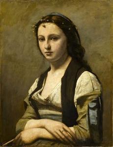 Vrouw met parel