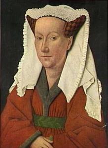 Portret van Margaretha van Eyck (?-?), echtgenote van de schilder