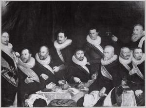 Tien officieren van de St. Jorisdoelen