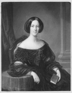 Portret van Henriette Elisabeth Luden (1833-1867)