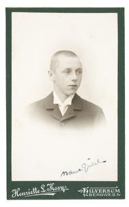 Portret van Jan Marie Gülcher (1885-1973)