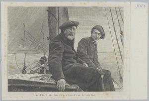 Jozef en Isaac Israëls aan boord van de 'Lady Bird'