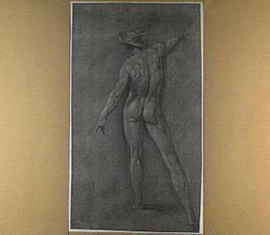 Naakte Mercurius, op de rug gezien