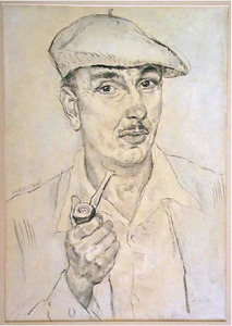 Portret van Kuno Brinks (1908-1992)