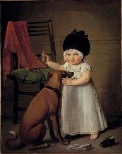 Portret van Suzanna Sophia Maria Hodshon (1816-1892)