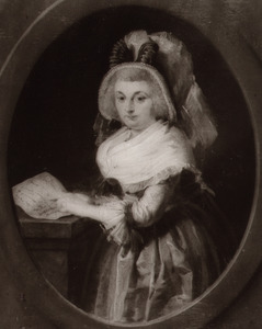 Portret van Anna Elisabeth Menkema (1751-1815)