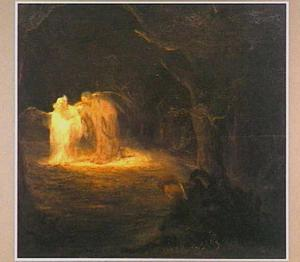 Christus in de hof der olijven te Getsemane (Mattheus 26: