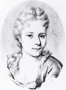 Portret van Christina Johanna Backer (1688-1737)
