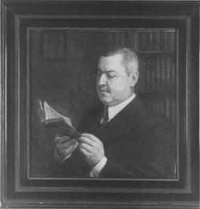 Portret van Nicolaas Gerhard van Huffel (1869-1936)
