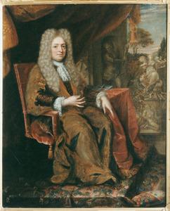 Portret van Willem van Haren (1626-1708), afgezant bij de vrede van Nijmegen
