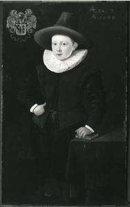 Portret van H. van Bouricius (1592-...)