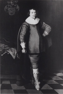 Portret van een man uit het geslacht Van Cammingha