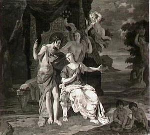 Bacchus en Ariadne op Naxos