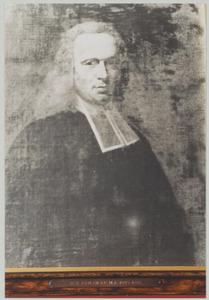 Portret van John Enslie (1685-1766)